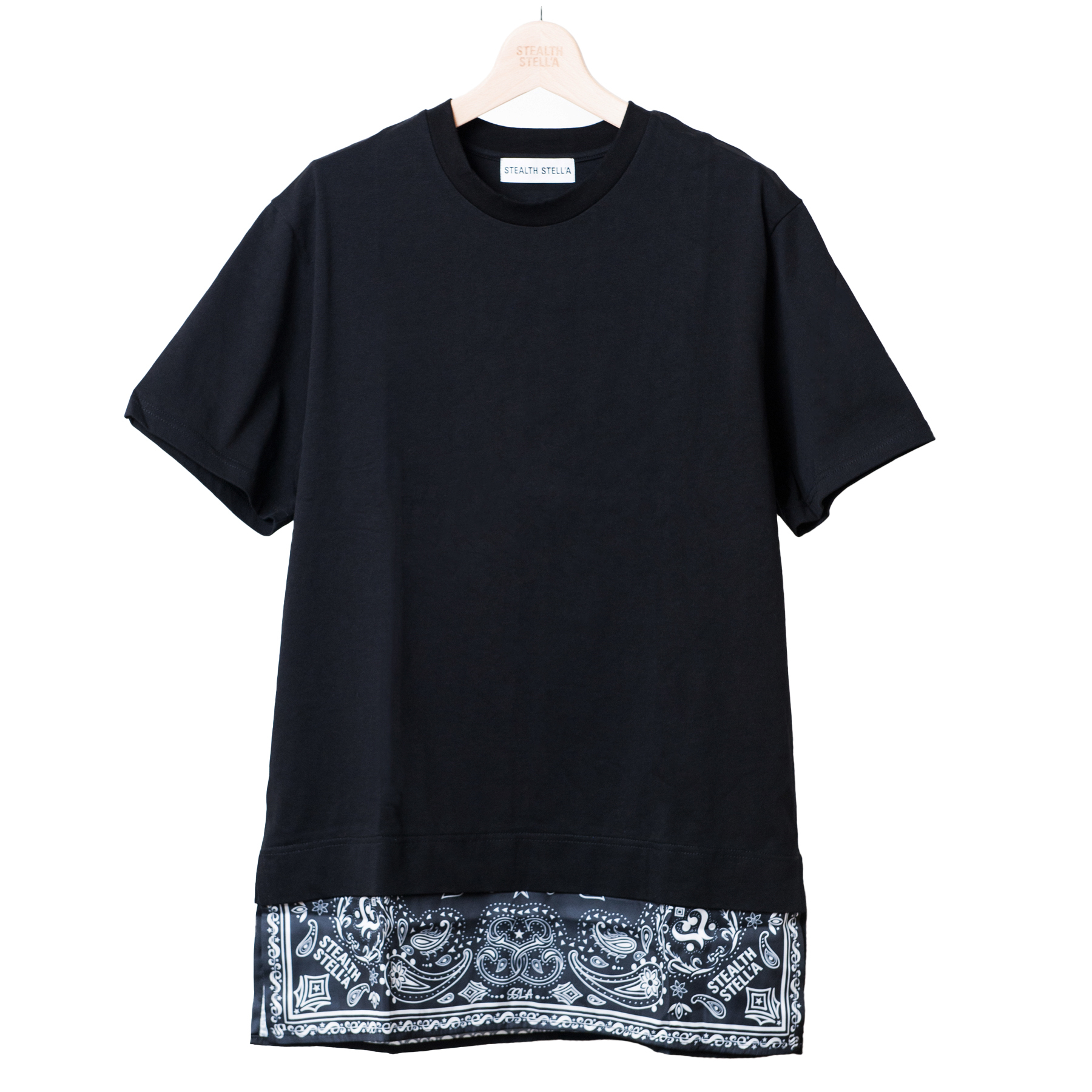 【STEALTH STELL'A】APRON-T'S(BLACK)