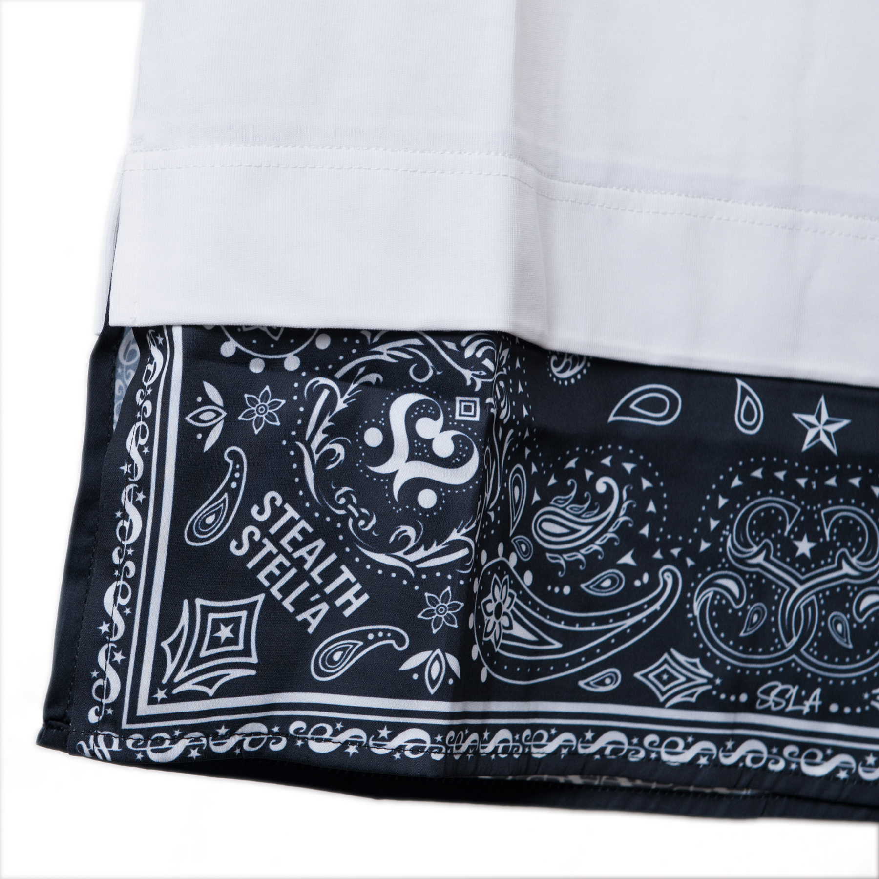 【STEALTH STELL'A】APRON-T'S(WHITE)