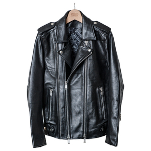 【STEALTH STELL'A】SAINT GERMAN-LEATHER RIDERS(SILVER)