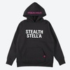 【STEALTH STELL'A】BASIC LOGO HOODIE (BLACK)