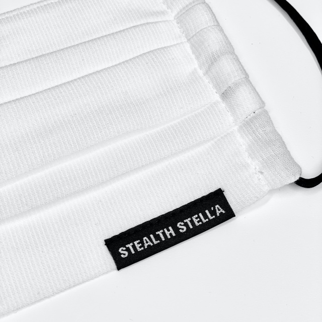 【STEALTH STELL'A】PLEATS(WHITE)