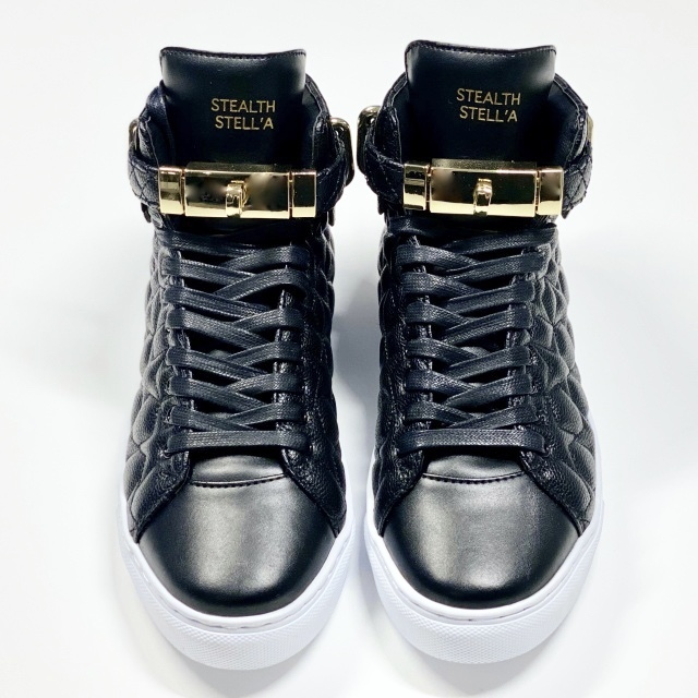 【STEALTH STELL'A】STAR KICKS (BLACK)