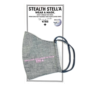 【STEALTH STELL'A】WEAR A MASK(GRAY)
