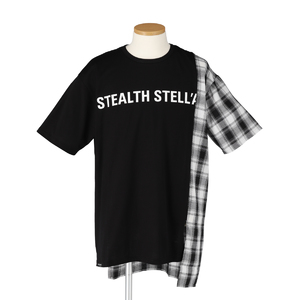 【STEALTH STELL'A】CONFINE-CHECK(BLACK)