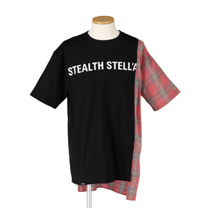 【STEALTH STELL'A】CONFINE-CHECK(CORAL)