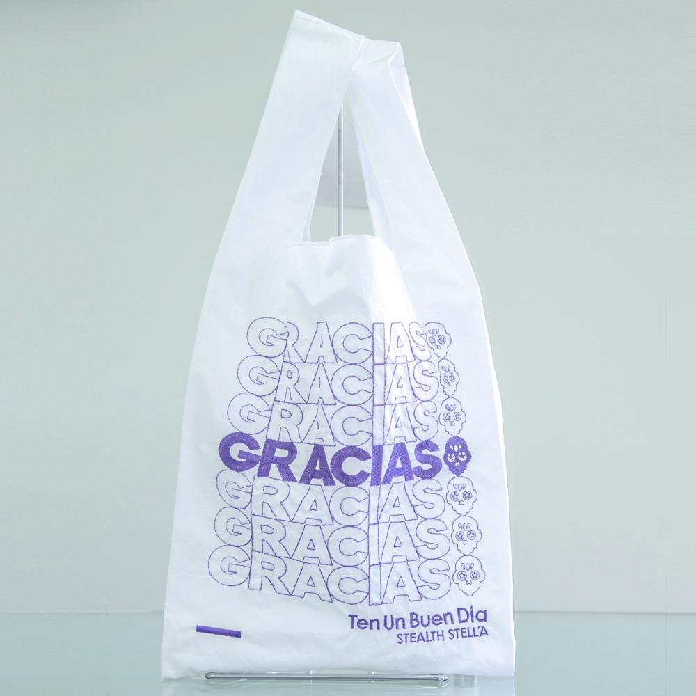 【STEALTH STELL'A】ECO BAG - GRACIAS(PURPLE)