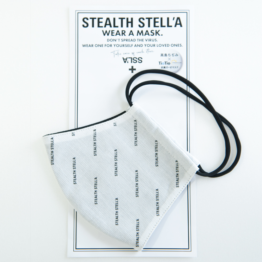【STEALTH STELL'A】LOGO(WHITE)