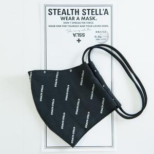 【STEALTH STELL'A】LOGO(BLACK)