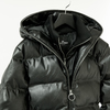 【STEALTH STELL'A】WINTER DIAMOND SHORT-LEATHER TOUCH(BLACK)