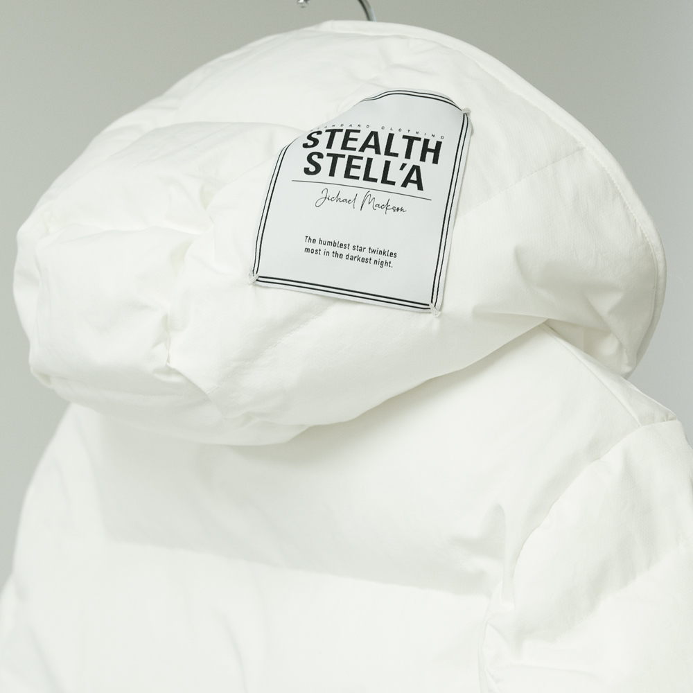 【STEALTH STELL'A】WINTER DIAMOND SHORT-NYLON(WHITE)
