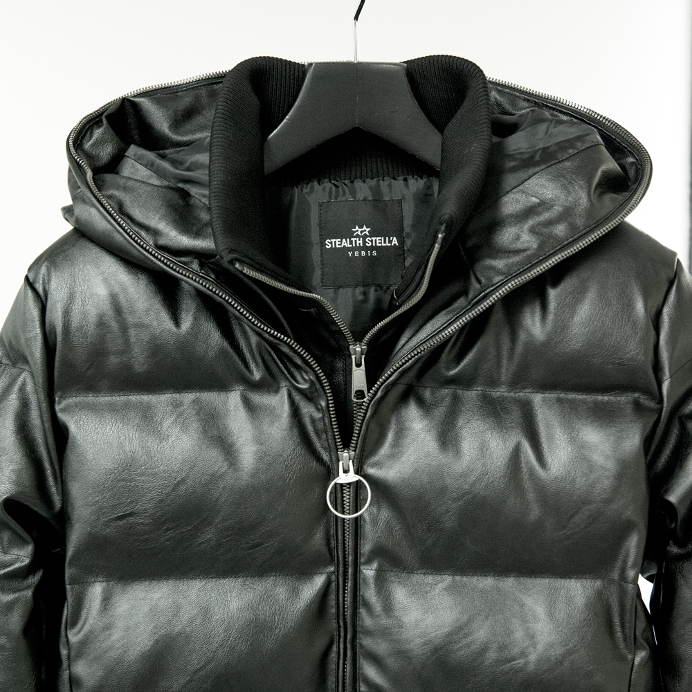 【STEALTH STELL'A】WINTER DIAMOND LONG-LEATHER TOUCH(BLACK)