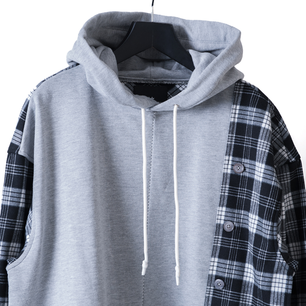 【STEALTH STELL'A】GRUNGY PARKER-LT(GRAY)