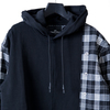 【STEALTH STELL'A】GRUNGY PARKER-LT(BLACK)