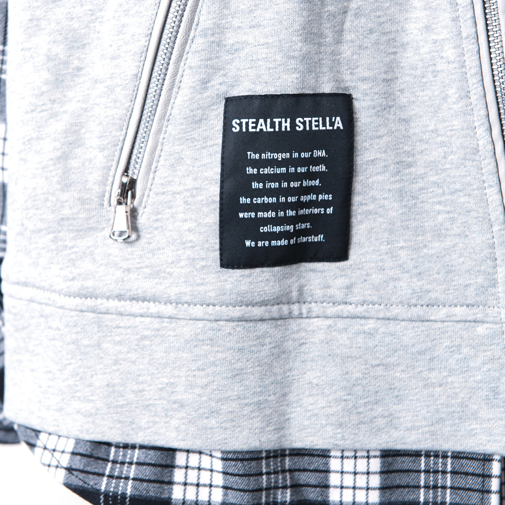 【STEALTH STELL'A】GRUNGY RIDER-LT(GRAY)