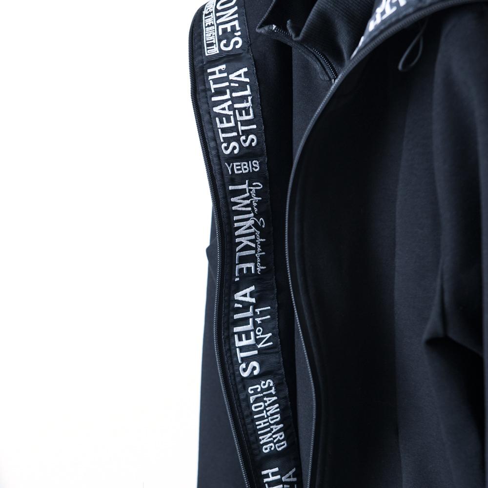 【STEALTH STELL'A】JOG TOP(BLACK)
