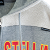 【STEALTH STELL'A】COLLEGE-HOODIE(GRAY)