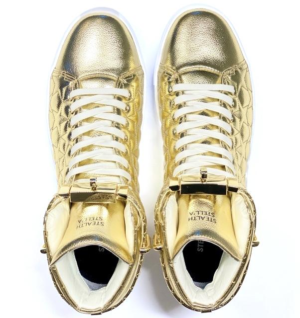 【STEALTH STELL'A】STAR KICKS (GOLD)