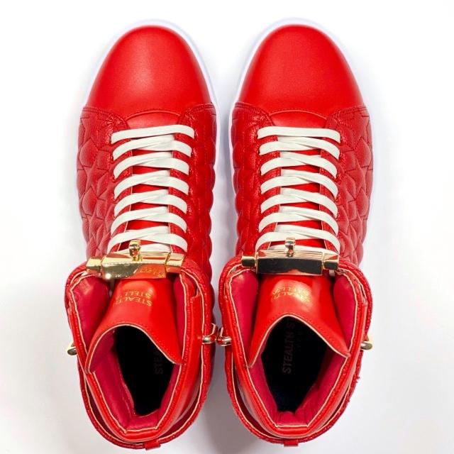 【STEALTH STELL'A】STAR KICKS (RED)
