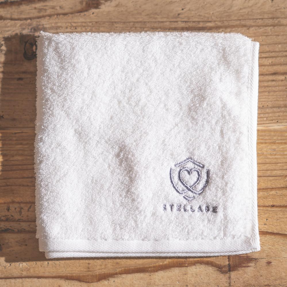 【STELLAGE】SKINCARE TOWEL(オフホワイト)